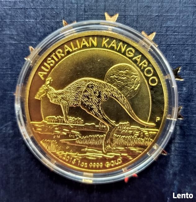 1 oz 999 Moneta 100 Dollars GOLD Złoto Kangur Elizabeth