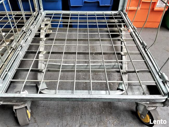 Wózek Transportowy Gniazdowy Kurierski Magazynowy 80x67