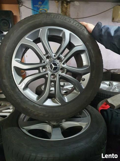 Alu felgi rozstaw 5x112 VW i Merc