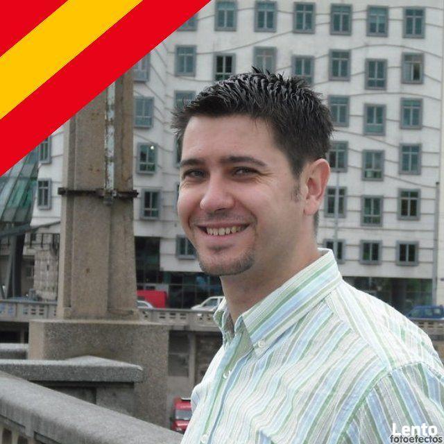 Ojczysty nauczyciel hiszpańskiego ONLINE
