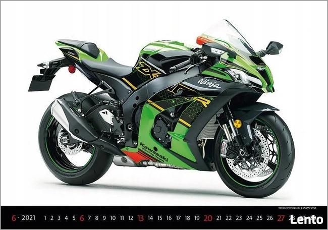 Motory kalendarz 2021 bikes moto motocykle