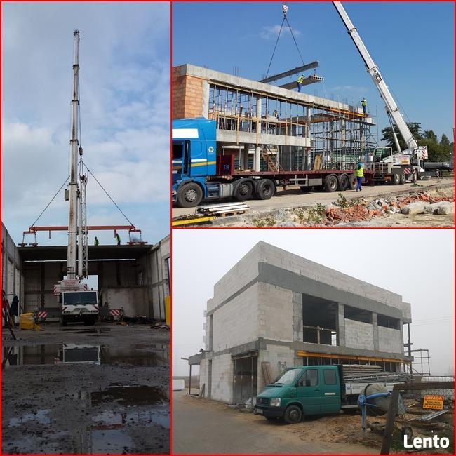 Budowa, konstrukcje żelbetowe, murowe, stalowe, fundamenty