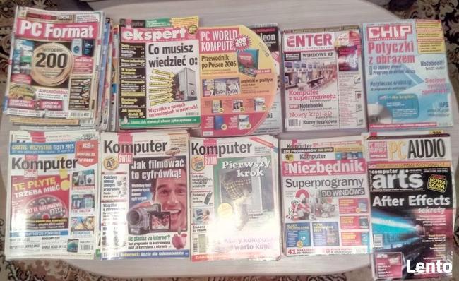 Czasopisma komputerowe z likwidowanej biblioteczki