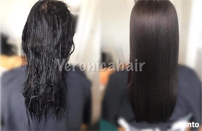 Keratynowe prostowanie włosów ! Fryzjer mobilny
