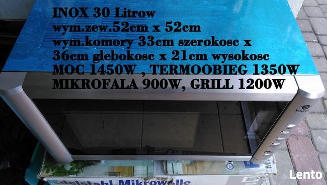 Mikrofala Stal Inox 30lit. Do Zabudowy