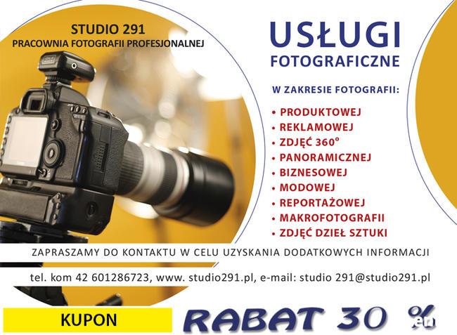 usługi fotograficzne PROMOCJA 30%