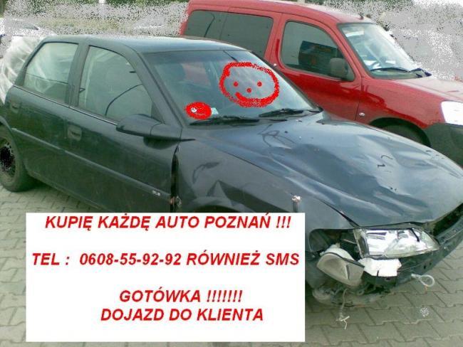 W każdym stanie zakupimy auta za gotówkę Poznań i Wlkp.