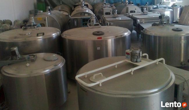 Schładzalniki do mleka nowe i używane (zbiornik do mleka )