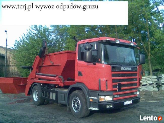 Wykopy Rozbiórki Porządkowanie terenów wywóz odpadów gruzu