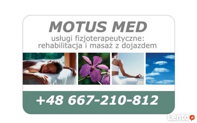 Rehabilitacja i masaż Toruń Motus Med