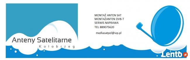 instalacja anten sat oraz DVB-T kołobrzeg