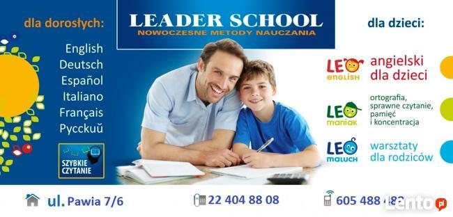 Leader School Piaseczno Szkołą językowa