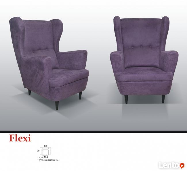 Fotel FLEXI **PRODUCENT KĘPNO** wyposażenie firm, studia.