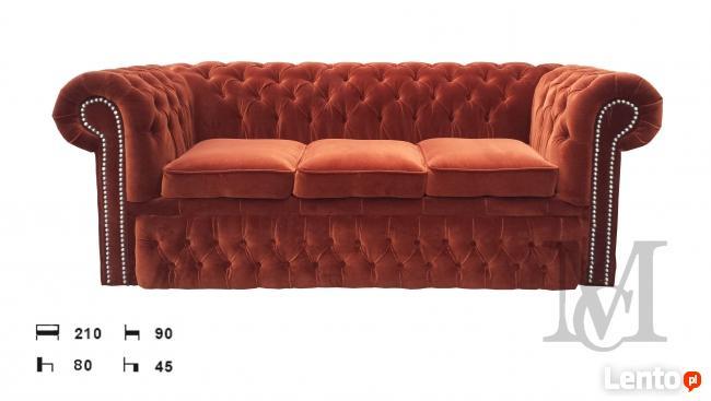 Sofa Chesterfield Classic rozkładana