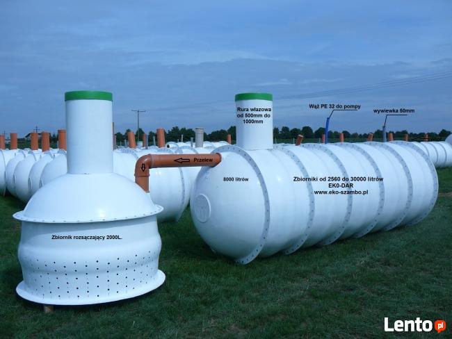 Szamba zbiorniki na nawozy płynne, zbiornik na deszczówkę