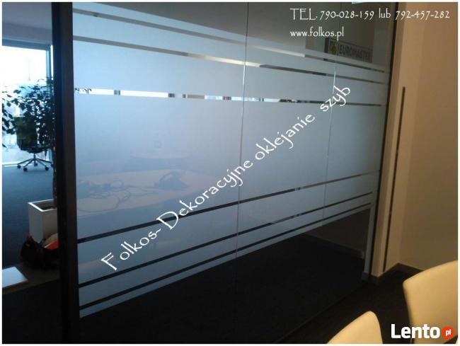 Oklejanie szyb folią Łomża, Folie Dekoracyjne na okna-