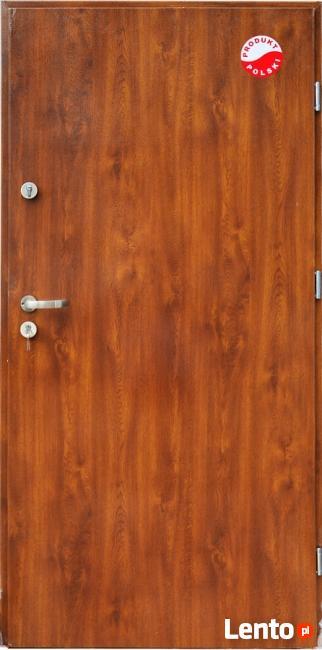 Drzwi zewnętrzne stalowe gładkie !!!