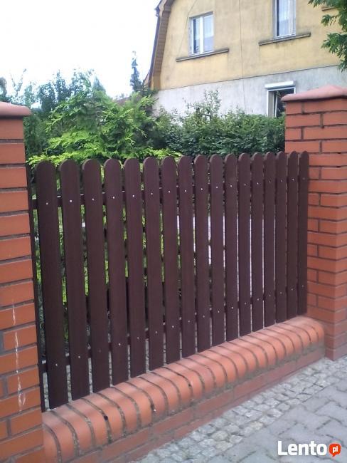 ogrodzenia - sztachety kompozytowe