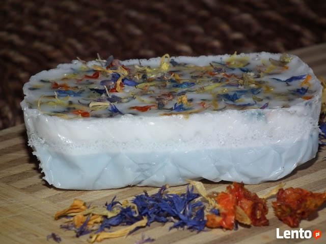 Mydło naturalne ręcznie Kwiat lotosu