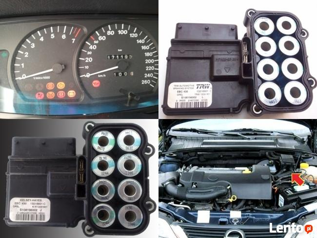 Naprawa sterowników ABS ESP (!) TC brak prędkościomierza
