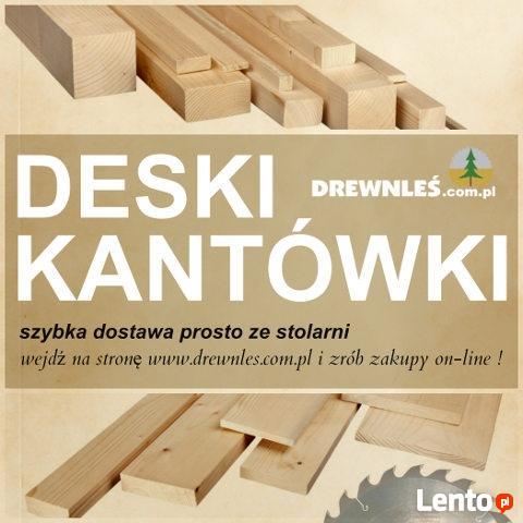 Deski – różne rodzaje strugane i suche
