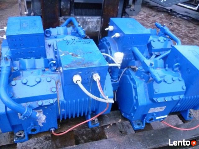 Używana sprężarka chłodnicza Bitzer 56.2 m3/h agregat