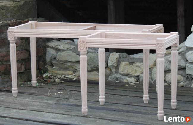 Pufka taboret - surowy stelaż