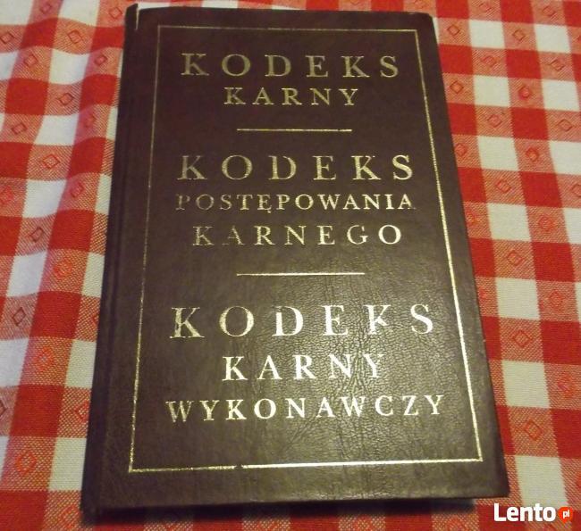 Kodeks Karny Postępowania Karnego Wykonawczy Gdańsk 1998