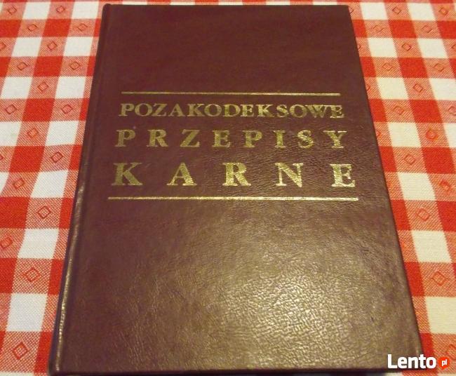 Pozakodeksowe Przepisy Karne Tramowski Witt Gdańsk 1996