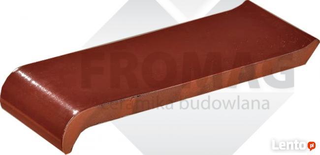 Parapet Parapety Ceramiczne klinkier okapnik TYP S fromag