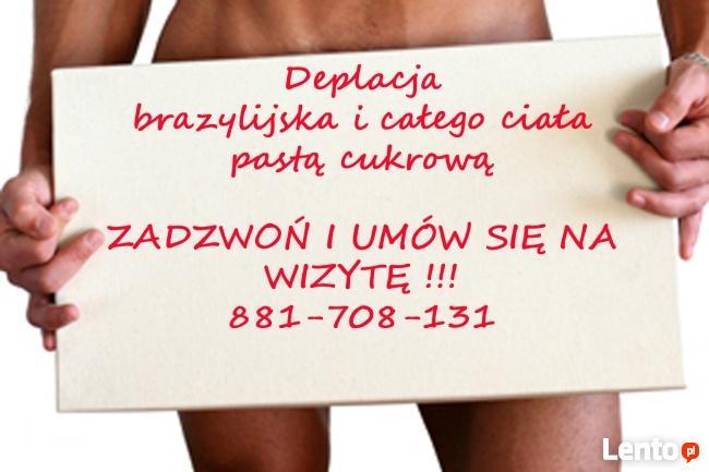 Męska depilacja intymna, brazylijska, Boyzilian-PASTA CUKROWA