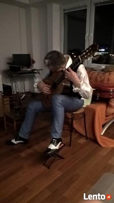 Gitarzysta na Wigilię Prywatną 2017. Gitara na Wigilię Wawa.