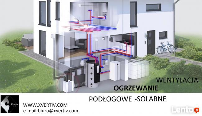 Ogrzewanie Kraków - Wykonawca XVERTIV