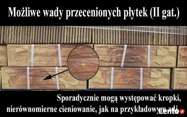 kamień elewacyjny PŁYTKI KLINKIEROWE CR fromag