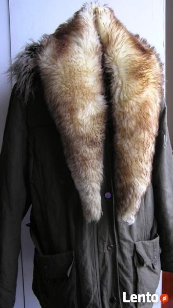 120 cm KOŁNIERZ OBSZYCIEnaturalne futro skóra