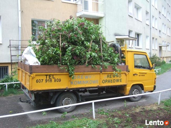 Wywóz śmieci ziemi gruzu porządkowanie ogrodów! POZNAŃ
