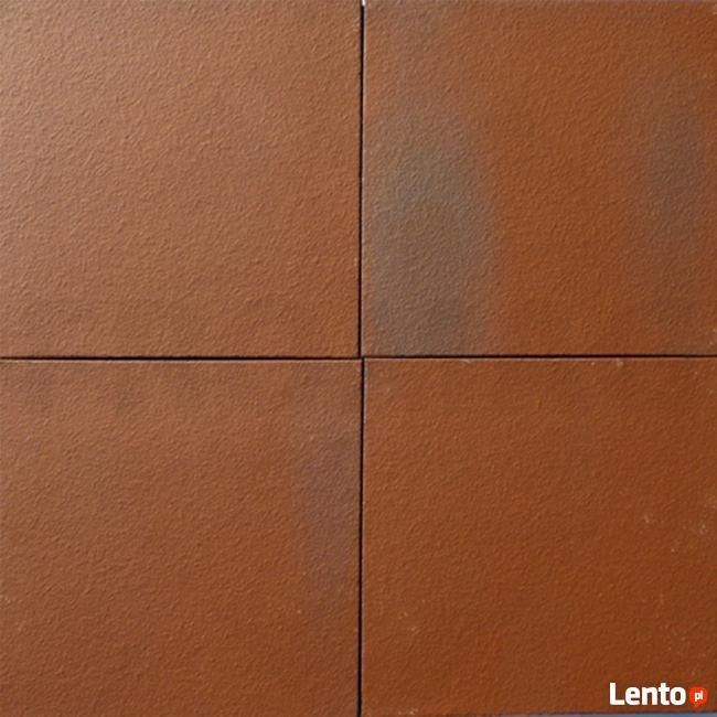 Białe płytki podłogowe RETRO cegła antyczna Miodowe KOSMO