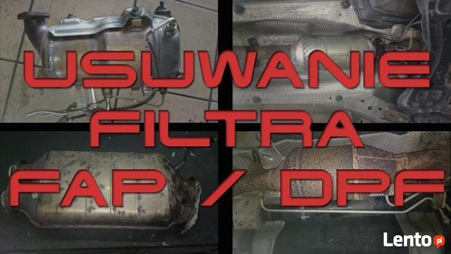 DPF FAP OFF - Usuwanie filtra cząstek stałych