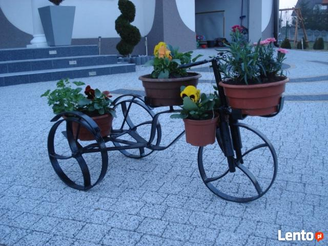 kwietnik rower 3-ka waga 11kg