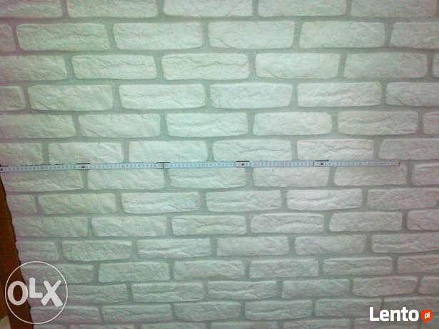 cegła biała z gipsu płytki gipsowe ceglane kamien gipsowy