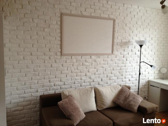 kamien gipsowy imitacja piaskowca białej cegły Okazja