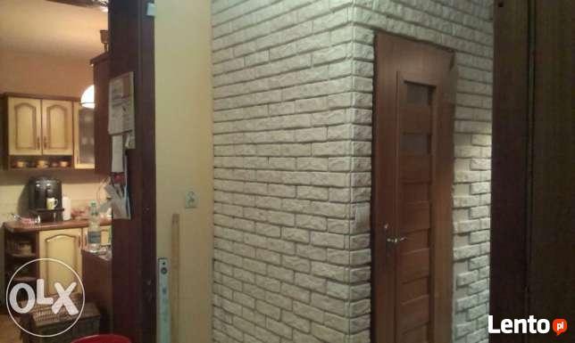 cegła biała z gipsu płytki dekoracyjne scienne biała