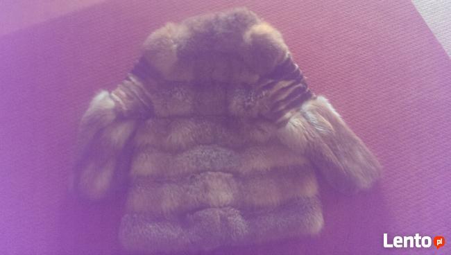 Ekskluzywne ręcznie wykonane futro z lisa.