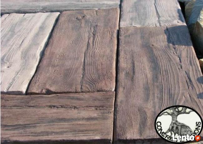 Betonowe Drewno Deskipodkładypłytki Tarasoweogrodowe Ulanów