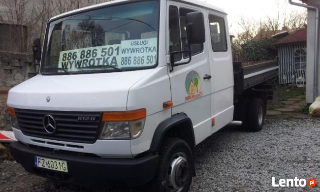 transport wywrotka 886886501 z.góra