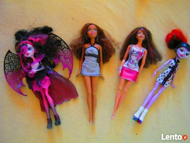 Lalki Monster High i Barbie 30 zl/szt.