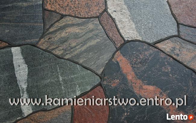 Zaawansowane Ogrodzenia z kamienia - mury, elewacje, chodniki, schody Olecko SM42