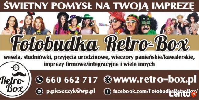 Fotobudka Retro-Box Jura, Zagłębie, Śląsk i okolice
