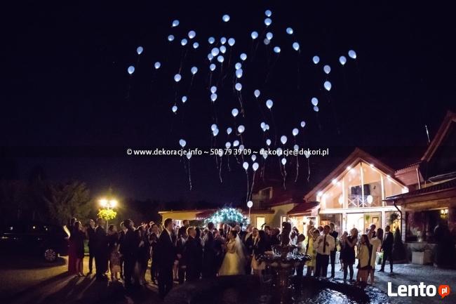 Świecące Balony LED Gdańsk | Ledowe z Helem Sopot Gdynia