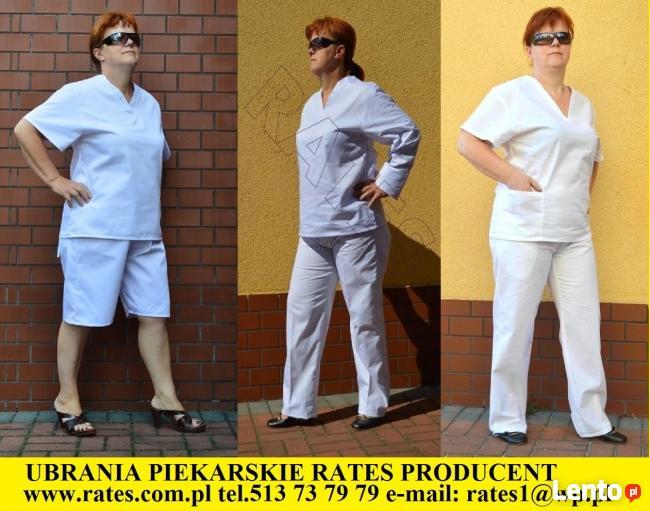 Ubrania robocze dla cukierników RATES Producent Odzieży